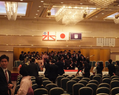 平成26年度 卒業式 (2015年3月26日)
